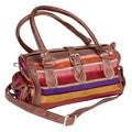 Handcrafted Tangiers Multi-color Shoulder Bag (Morocco)