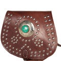 Fez Brown Cross-body Medallion Bag (Morocco)