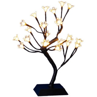 15-inch LED Lighted Cherry Blossom Tree
