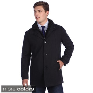 Kenneth Cole Men's Wool Car Coat