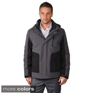 Calvin Klein Men's Soft Shell Hooded Coat
