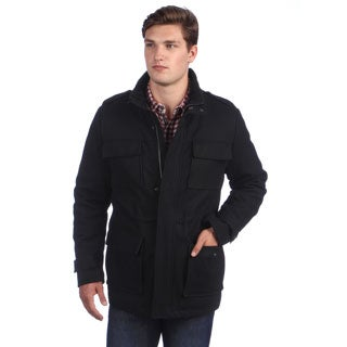Calvin Klein Men's 4-pocket Wool Coat