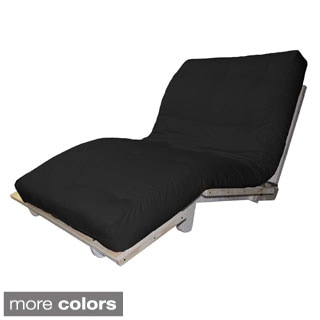 Houston Transitional-Style Convertible Futon Lounger