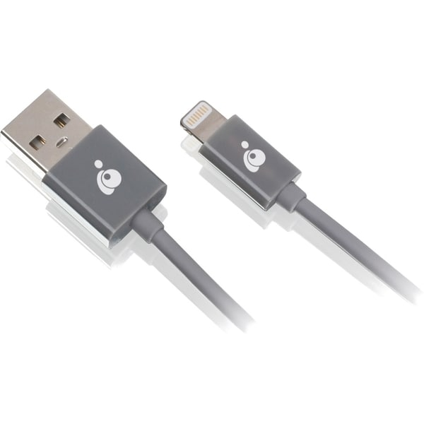 Iogear Charge & Sync Cable, 6.5ft (2m) - USB to Lightning Cable