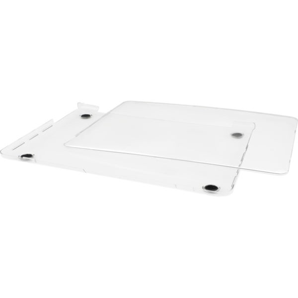 """Macally Clear Hardshell Protective Case For 15"""" MacBook Pro with Reti"""
