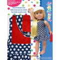 Springfield Collection Polka Dot Swimsuit-Navy
