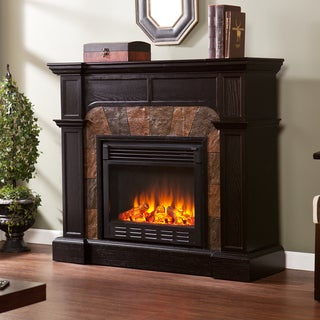 Upton Home Hollandale Ebony Convertible Electric Fireplace