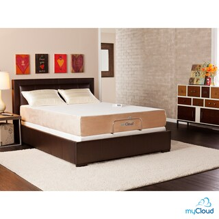 myCloud Gel Infused Memory Foam 10-inch Queen-Size Mattress