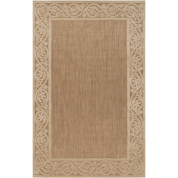 Woven Natural Olefin Transitional Roanno Rug (8'8 x 12')