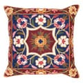 Kashmir Cushion Cover and Dense Chain Stitch Embroidery (India)
