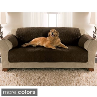 Quilted Micro Suede Sofa Furniture Protector