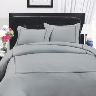 Roxbury Park Mineral Multi-color Baratto Stripe Duvet Cover Set (Euro Shams Sold Separately)
