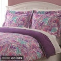 Paisley Butterfly 3-piece Comforter Set