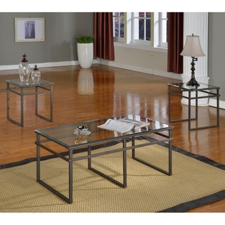 K&B T208 Cocktail Table with Two End Tables