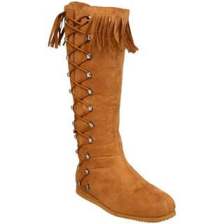 Funtasma Indian Women's Flat Knee High Boots