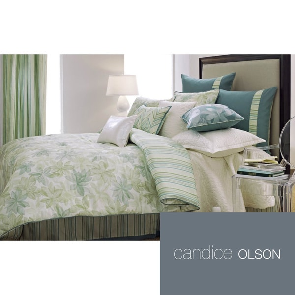 Candice Olson Natura 4 Piece Comforter Set And Euro Sham