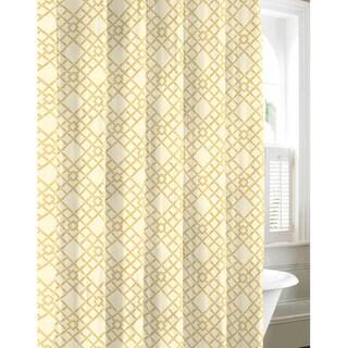 Tommy Bahama Bamboo Trellis Cotton Shower Curtain