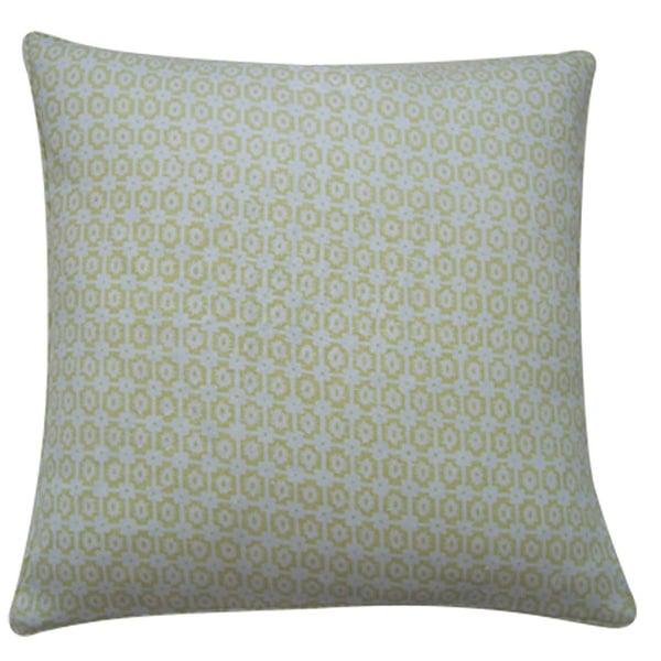 Diana 20-Inch x 20-Inch Lemon Pillow