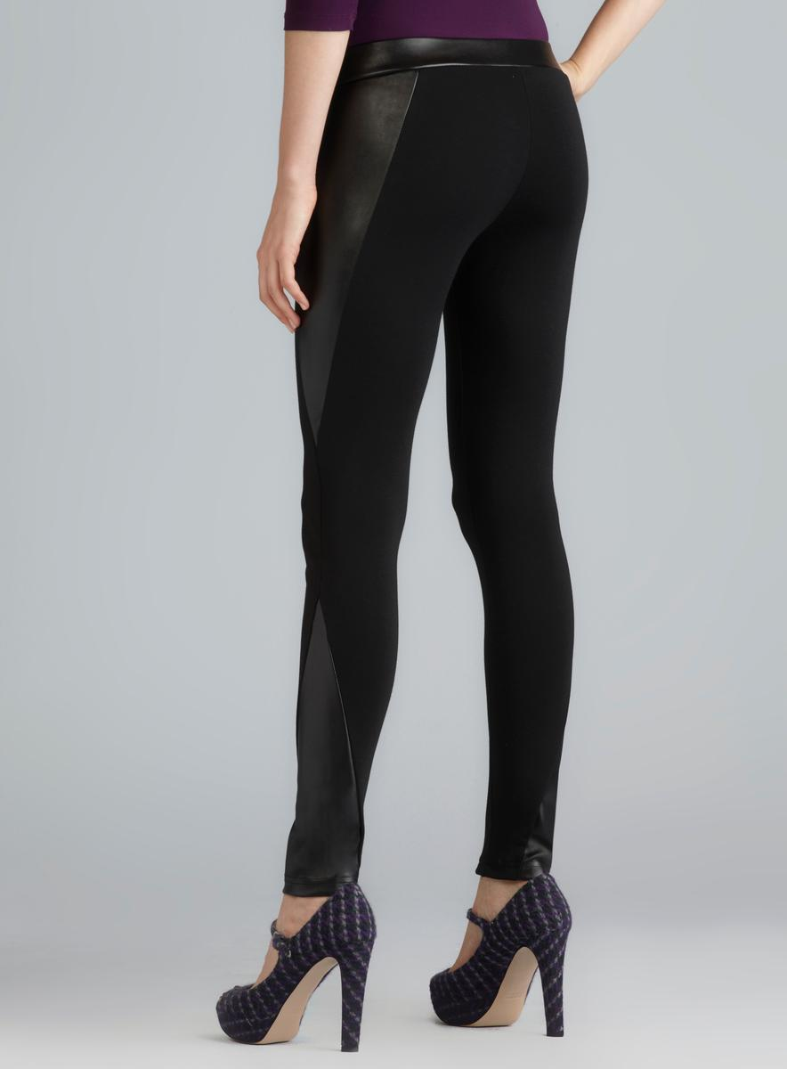 Romeo amp Juliet Couture Zipper Front Faux Leather Panel  : Romeo Juliet Couture Zipper Front Faux Leather Panel Ponte Pants MLA15678405 from www.overstock.com size 884 x 1200 jpeg 30kB
