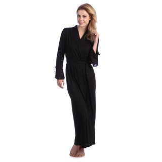 Jones New York Women's Full-length Knit Robe