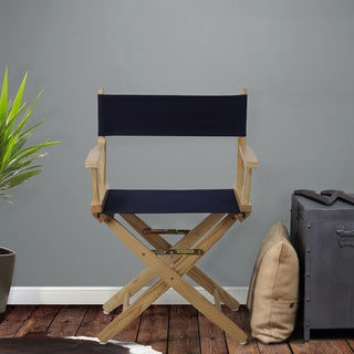 Extra-Wide 18-inch Premium American Oak Directors Chair
