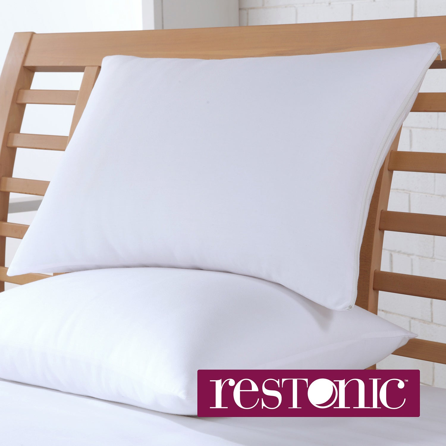 Restonic Cotton Bed Pillow Protector (Set of 2) at Sears.com