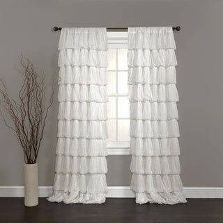 Lush Decor Olivia Off White 84-inch Curtain Panel