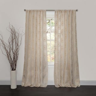 Lush Decor Samantha Ivory 84-inch Curtain Panel