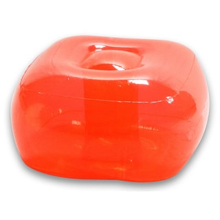 Real Red Inflatable Bubble Ottoman