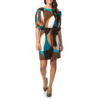 Studio 1 Women's Extended Sleeve Dress