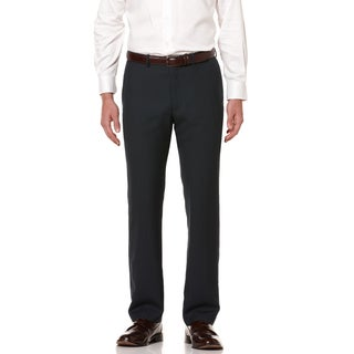 Perry Ellis Men's Regular Fit Textured Stripe Dress Pants
