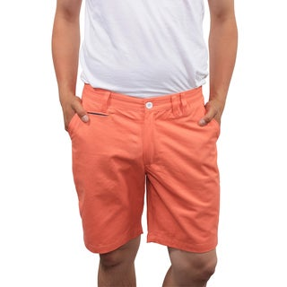 Filthy Etiquette Men's Slim Fit Salmon Shorts