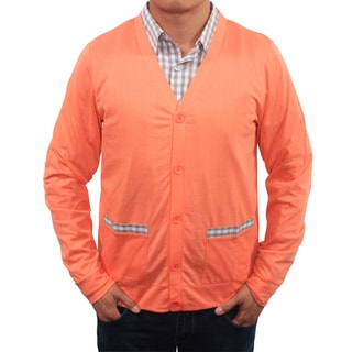 Filthy Etiquette Men's Pocket Trim Cardigan