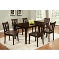 Urban Lee Espresso 7-Piece Dining Set