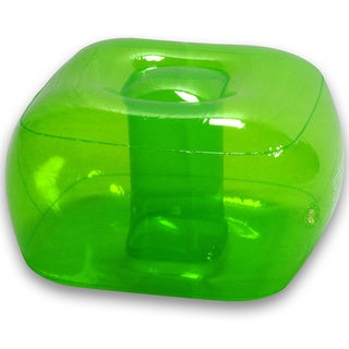 Garden Green Inflatable Bubble Ottoman