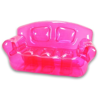 Pretty Pink Inflatable Bubble Couch