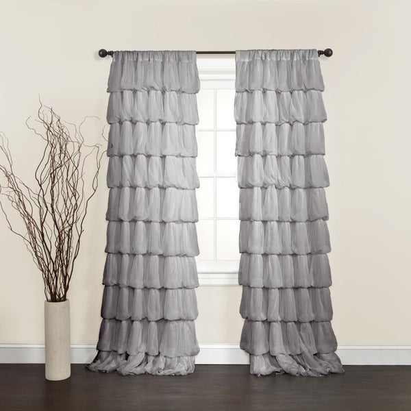 Lush Decor Olivia 84-inch Curtain Panel