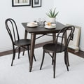 Cafe Dark Vintage Metal Side Chairs (Set of 2)