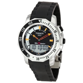 Tissot Men's T0264201728101 'Sea-Touch' Black Dive Watch