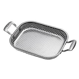Emeril Stainless Steel Rectangle Roaster Grill