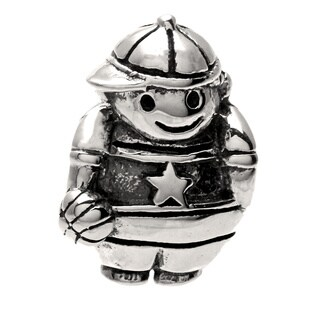 Sterling Silver Boy Bead