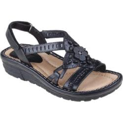 Women's Earth Downeaster Black Viva Soft Calf