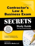 Contractor's Law & Business Exam Secrets: Contractor's Test Review for the Contractor's Law & Business Exam (Paperback)