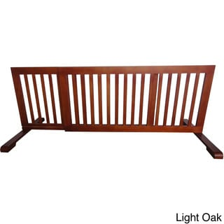 Adjustable Free Standing Step-over Gate