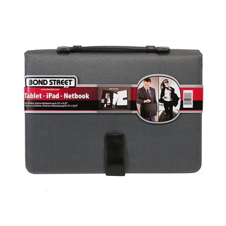 Bond Street All in One Tablet-iPad Organizer with Writing Pad