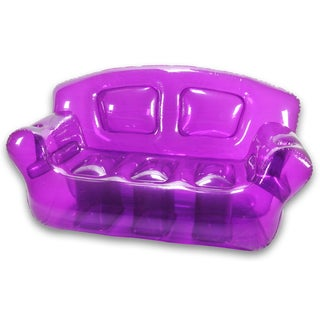 Perfect Purple Inflatable Bubble Couch