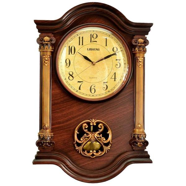 Brown 22-inch Wall Clock