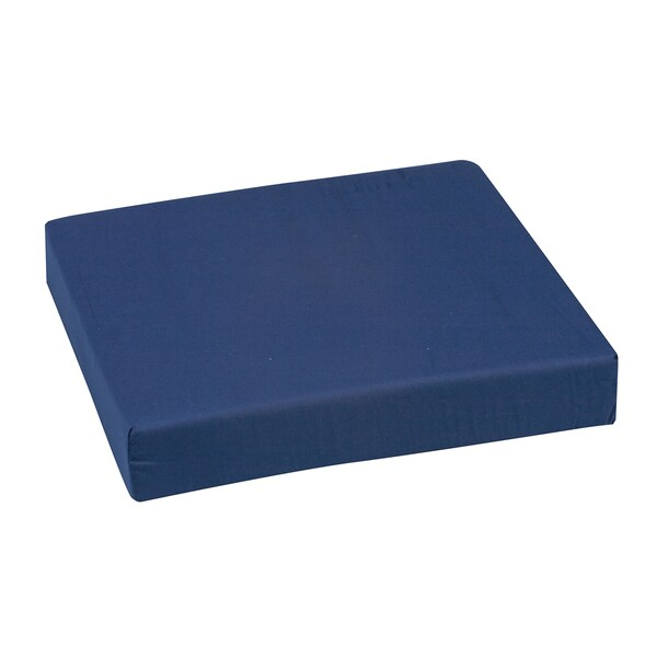 DMI Polyfoam Standard Navy Wheelchair Cushion