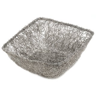 11-inch Square Twist Wire Mesh Basket