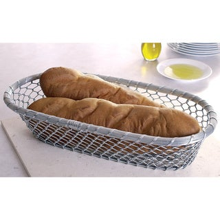 17-inch Chain-Link Metal Bread Basket